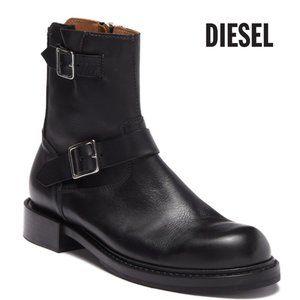 Diesel Moto Side Zip Buckle Men's Boot